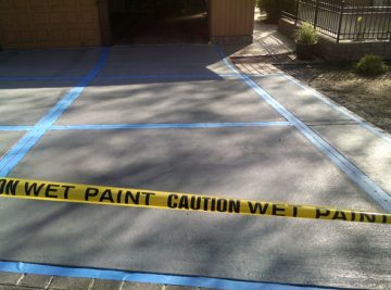 Rehher Driveway Paint & Texture | Clean-Coat Portland, OR